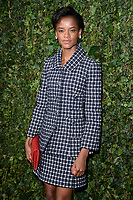 Letitia Wright<br /> arriving for the 2018 Charles Finch & CHANEL Pre-Bafta party, Mark's Club Mayfair, London<br /> <br /> <br /> ©Ash Knotek  D3380  17/02/2018
