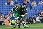 League Santander 2017-2018 - Game: 2<br /> RCD Espanyol vs CD Leganes: 0-1.<br /> Ezequiel Mu&ntilde;oz.