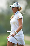 CHON BURI, THAILAND - FEBRUARY 17:  Natalie Gulbis of USA walks off the 15th green during day two of the LPGA Thailand at Siam Country Club on February 17, 2012 in Chon Buri, Thailand.  Photo by Victor Fraile / The Power of Sport Images