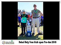 Matthew and Denis Healy with Shane Lowry's bag the 10th tee during Wednesday's Pro-Am of the 2018 Dubai Duty Free Irish Open, held at Ballyliffin Golf Club, Ireland. 4th July 2018.<br /> Picture: Eoin Clarke | Golffile<br /> <br /> <br /> All photos usage must carry mandatory copyright credit (&copy; Golffile | Eoin Clarke)