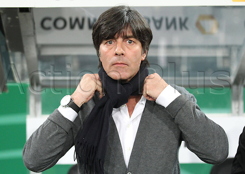 29 03 2011  DFB German coach Joachim Jogi Loew Loew Portrait Head  Face Germany Australia German Football national team DFBfriendly  in Moenchengladbach