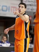 Mad-Croc Fuenlabrada's Quino Colom during Liga Endesa ACB match.November 18,2012. (ALTERPHOTOS/Acero) NortePhoto