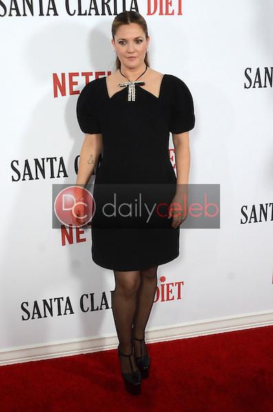 "Drew Barrymore<br /> at the ""Santa Clarita Diet"" Premiere, Arclight Cinerama Dome, Hollywood, CA 02-01-17<br /> David Edwards/DailyCeleb.com 818-249-4998"