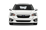 Car photography straight front view of a 2018 Subaru Impreza Premium 5 Door Hatchback Front View