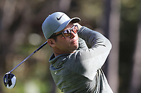 Paul Casey (ENG) tees off the 4th tee at Monterey Peninsula CC during Saturday's Round 3 of the 2018 AT&amp;T Pebble Beach Pro-Am, held over 3 courses Pebble Beach, Spyglass Hill and Monterey, California, USA. 10th February 2018.<br /> Picture: Eoin Clarke | Golffile<br /> <br /> <br /> All photos usage must carry mandatory copyright credit (&copy; Golffile | Eoin Clarke)