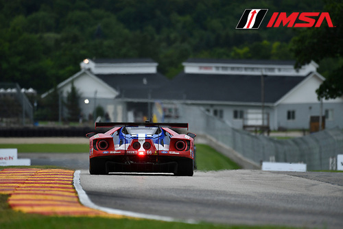 IMSA WeatherTech SportsCar Championship<br /> Continental Tire Road Race Showcase<br /> Road America, Elkhart Lake, WI USA<br /> Friday 4 August 2017<br /> 66, Ford, Ford GT, GTLM, Joey Hand, Dirk Muller<br /> World Copyright: Richard Dole<br /> LAT Images<br /> ref: Digital Image DSC_6136