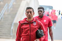 East Hartford, CT - Saturday July 01, 2017: Alejandro Bedoya during an international friendly game between the men's national teams of the United States (USA) and Ghana (GHA) at Pratt & Whitney Stadium.