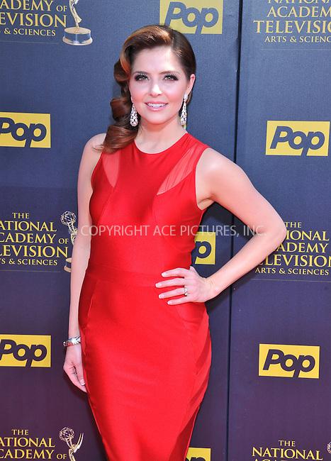 WWW.ACEPIXS.COM<br /> <br /> April 26 2015, LA<br /> <br /> Jen Lilley arriving at The 42nd Annual Daytime Emmy Awards at Warner Bros. Studios on April 26, 2015 in Burbank, California.<br /> <br /> By Line: Peter West/ACE Pictures<br /> <br /> <br /> ACE Pictures, Inc.<br /> tel: 646 769 0430<br /> Email: info@acepixs.com<br /> www.acepixs.com