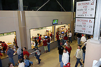 16 September 2006: Concessions during Stanford's 37-9 loss to Navy during the grand opening of the new Stanford Stadium in Stanford, CA.