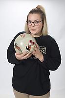 NWA Democrat-Gazette/DAVID GOTTSCHALK  Girls Bowler of the Year Kynzi Eichler from Bentonville High School Wednesday, March 13, 2019, at the Northwest Arkansas Democrat-Gazette office in Fayetteville.<br /> <br /> AN BOW-BENT EICHLER