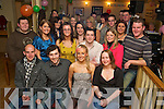 Amanda Murphy, Milltown, pictured with her family and friends as she celebrated her 21st birthday in Bunkers Bar, Killorglin, on Saturday night...