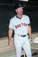 Boston Red Sox third baseman Wade Boggs (26) during the 1991 season at Memorial Stadium in Baltimore, Maryland.  (MJA/Four Seam Images)