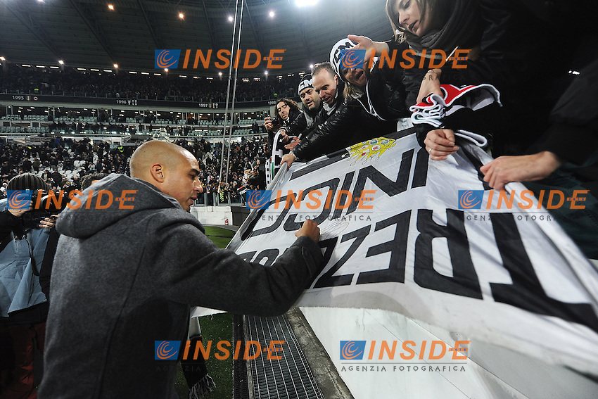 David Trezeguet <br /> Torino 05-01-2014 Juventus Stadium - Football Calcio Serie A 2013/2014 Juventus - As Roma Foto Andrea Staccioli / Insidefoto