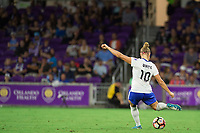 Orlando, FL - Saturday September 02, 2017: Rosie White during a regular season National Women's Soccer League (NWSL) match between the Orlando Pride and the Boston Breakers at Orlando City Stadium.