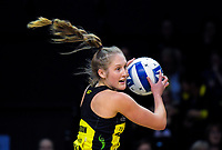Maddy Gordon in action during the ANZ Premiership netball match between the Central Pulse and Northern Stars at the TSB Bank Arena in Wellington, New Zealand on Monday, 13 May 2019. Photo: Dave Lintott / lintottphoto.co.nz