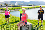 Launching the  virtual fundraising runfor the Kerry Hospice in Blennerville on Tuesday.  Front: Michelle Greaney. Back l to r:  Tommy Horan, Andrea O'Donoghue and Anne Kelliher.