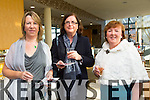Audrey Carroll, Rose Daly, Noreen O'Leary from Ballyroe enjoying the Ladies Lunch fashion show in Support of the Kerry Cancer support Group at the Ballyroe  Heights Hotel on Sunday