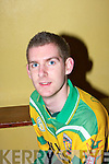 Edward Fitzgerald.............at  the Kilmoyley team press night ahead of the County Hurling Final