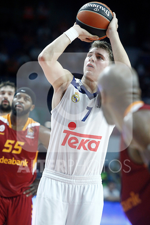 Real Madrid's Luka Doncic during Euroleague, Regular Season, Round 5 match. November 3, 2016. (ALTERPHOTOS/Acero)