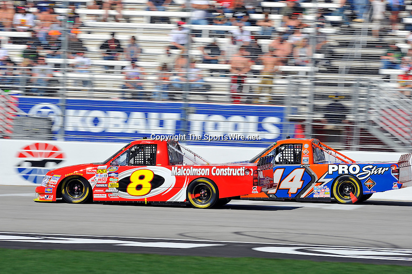 Mar 07, 2009; 2:52:42 PM; Hampton, GA, USA; NASCAR Camping World Truck Series race for the American Commercial Lines 200 at the Atlanta Motor Speedway.  Mandatory Credit: (thesportswire.net)