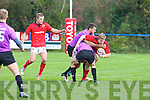 Munster's Danny Barnes in action in the British and Irish Cup at O'Dowd .park, Tralee on Saturday.