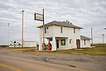 Lucille's Historic Route 66 Phillips 66 gas station in rural Okla.