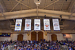 Countdown to Craziness and Blue vs White scrimmage.  2015 Nobel Prize in chemistry recipient, Paul Modrich, honored.  2012 Nobel laureate, Robert Lefkowitz also present.  Cameron Indoor Stadium.<br /> <br /> (Jon Gardiner/Duke Photography)