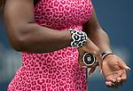 Serena Williams (USA) defeats Varvara Lepchenko (USA) 6-3, 6-3