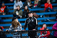 Seattle, Washington -  Saturday April 22, 2017: Seattle Reign FC fans during a regular season National Women's Soccer League (NWSL) match between the Seattle Reign FC and the Houston Dash at Memorial Stadium.