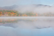 Mount Chocorua from Chocorua Lake in Tamworth, New Hampshire USA during the autumn months . This lake offers an excellent view of Mount Chocorua.