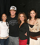 "AMC's Jeff Branson starring My Life As You is joined by  Terri Ivens ""Simone Torres"", Jeff Branson, Susan Lucci ""Erika Kane"",  Eden Riegel ""Bianca Montgomery"" on September 15, 2006 at the Producers Club II, NYC.  (Photo by Sue Coflin/Max Photos)"