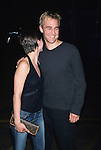 James Van Der Beek and Heather McComb at the WB Network Upfront Party at Chelsea Piers Lighthouse in New York City on May 15th, 2001.