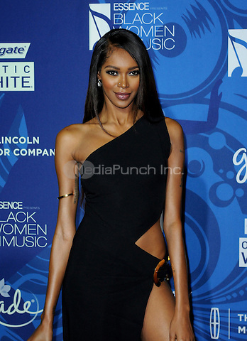HOLLYWOOD, CA -  FEBRUARY 5: Jessica White arrives at the 6th Annual Essence Black Women in Music event at Avalon Hollywood on February 5, 2015 in Hollywood, California.  Credit: PGAJ/MediaPunch