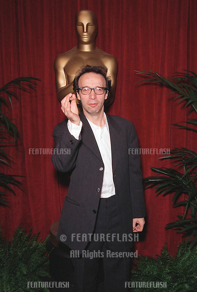 "08MAR99:  ""Life is Beautiful"" director & star ROBERTO BENIGNI at luncheon in Beverly Hills for this year's Academy Award nominees. .© Paul Smith / Featureflash"