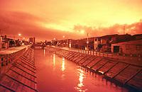 Canal da Visconde de Inaha&uacute;ma , &aacute;rea da reforma da macrodenagem da Bacia do Una<br /> Bel&eacute;m Par&aacute; Brasil<br /> FotoWagner Bills/Acervo H<br /> 2002