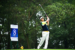 Masamichi Ito of Japan tees off during the 2011 Faldo Series Asia Grand Final on the Faldo Course at Mission Hills Golf Club in Shenzhen, China. Photo by Raf Sanchez / Faldo Series