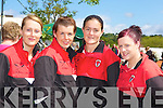 .Fossa rowers l-r: Marian Murphy, Elaine O'Sullivan, Tina Healy and Ciara O Donoghue at the Killarney Regatta on Sunday