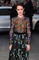 Claire Foy at the premiere for &quot;Breathe&quot;, part of the BFI London Film Festival, at the Odeon Leicester Square, London, UK. <br /> 04 October  2017<br /> Picture: Steve Vas/Featureflash/SilverHub 0208 004 5359 sales@silverhubmedia.com