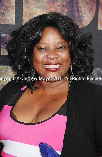 "HOLLYWOOD, CA - JULY 28: Loretta Devine arrives at the ""Rise Of The Planet Of The Apes"" Los Angeles Premiere at Grauman's Chinese on July 28, 2011 in Hollywood, California."