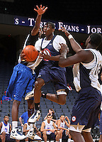 Myck Kabongo at the NBPA Top100 camp June 17, 2010 at the John Paul Jones Arena in Charlottesville, VA. Visit www.nbpatop100.blogspot.com for more photos. (Photo © Andrew Shurtleff)