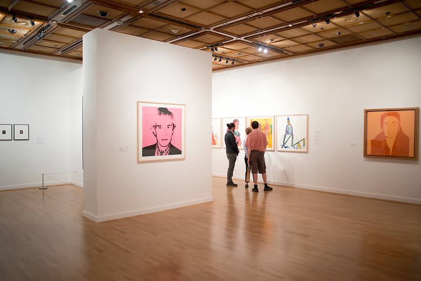 Andy Warhol´s Out West exhibition at the Bellagio Museum of Fine Arts. Las Vegas, Nevada, USA