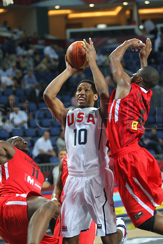 06.09.2010. Istanbul, Turkey. World Championship Basketball, United States of America versus Angloa. DANY GRANGER