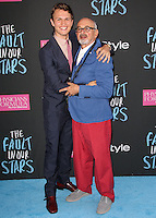 NEW YORK CITY, NY, USA - JUNE 02: Ansel Elgort, Arthur Elgort at the New York Premiere Of 'The Fault In Our Stars' held at Ziegfeld Theatre on June 2, 2014 in New York City, New York, United States. (Photo by Jeffery Duran/Celebrity Monitor)