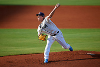 Charlotte Stone Crabs starting pitcher Brendan McKay (31) during a game against the Dunedin Blue Jays on June 5, 2018 at Charlotte Sports Park in Port Charlotte, Florida.  Dunedin defeated Charlotte 9-5.  (Mike Janes/Four Seam Images)