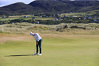 Brandon Stone (RSA) putts on the 2nd green during Friday's Round 2 of the 2018 Dubai Duty Free Irish Open, held at Ballyliffin Golf Club, Ireland. 6th July 2018.<br /> Picture: Eoin Clarke | Golffile<br /> <br /> <br /> All photos usage must carry mandatory copyright credit (&copy; Golffile | Eoin Clarke)