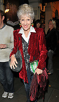 Anita Dobson at the &quot;Young Frankenstein&quot; press night, Garrick Theatre, Charing Cross Road, London, England, UK, on Tuesday 10 October 2017.<br /> CAP/CAN<br /> &copy;CAN/Capital Pictures