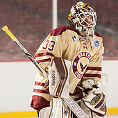 Katie Burt (BC - 33) - The Boston College Eagles defeated the Harvard University Crimson 3-1 on Tuesday, January 10, 2017, at Fenway Park in Boston, Massachusetts.The Boston College Eagles defeated the Harvard University Crimson 3-1 on Tuesday, January 10, 2017, at Fenway Park.