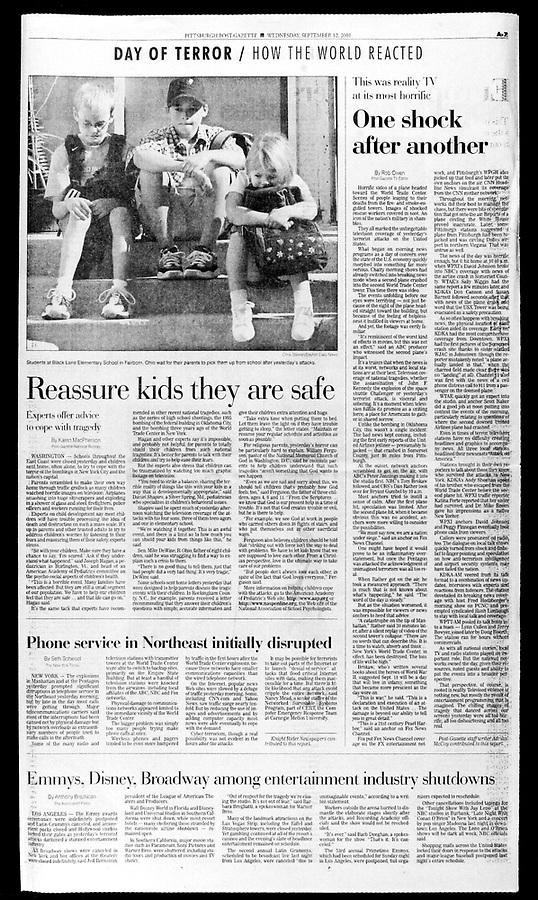 Wednesday, September 12, 2001