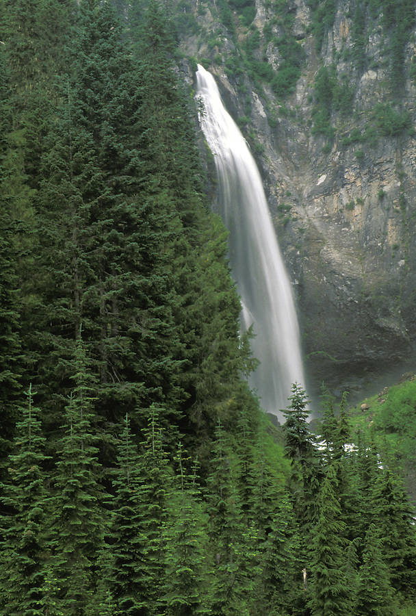 Comet Falls, Mount Rainier National Park, Washington