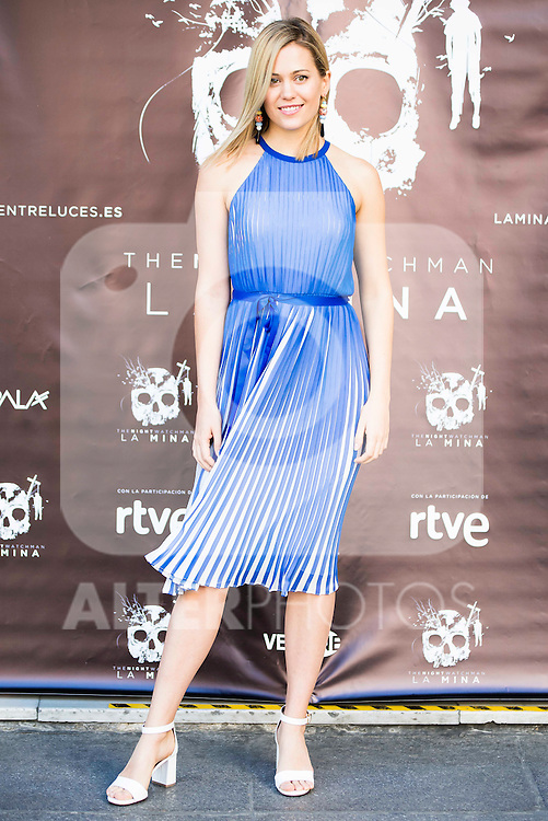 "Kimberley Tell during the presentation of the film ""La Mina"" at Cines Renoir Plaza España in Madrid. July 15. 2016. (ALTERPHOTOS/Borja B.Hojas)"